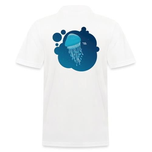 Grosse méduse - Polo Homme