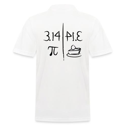 pi vs pie - Men's Polo Shirt