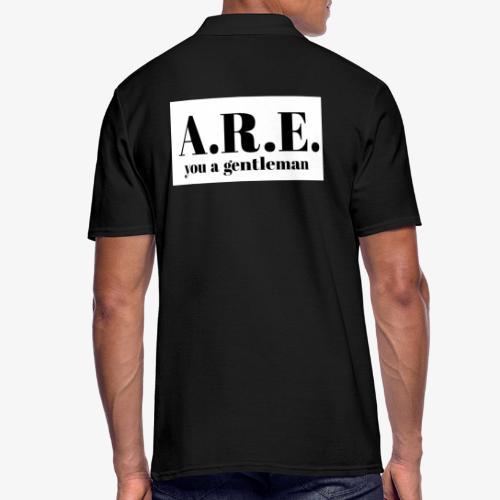 ARE you a gentleman - Men's Polo Shirt