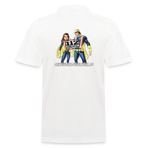 Superhelden & Logo - Männer Poloshirt