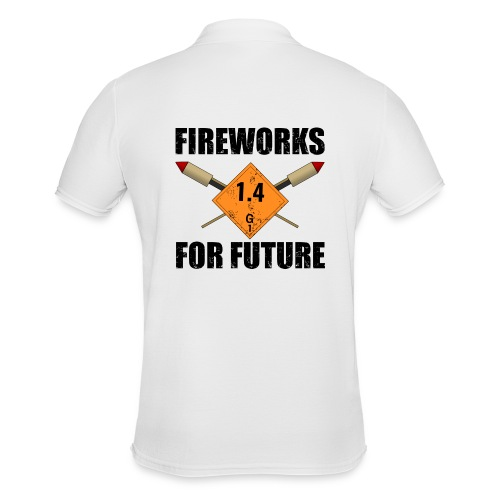 Fireworks for Future Pyro - Männer Poloshirt