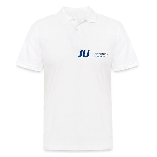 JU Thüringen blau quer - Männer Poloshirt