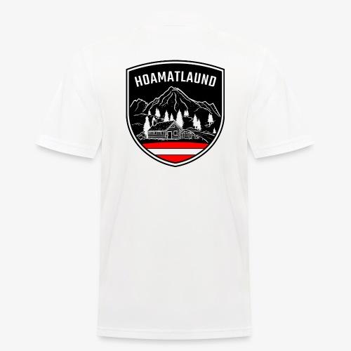 Hoamatlaund logo - Männer Poloshirt