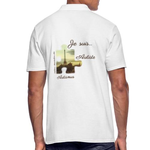 Je suis Autiste - Männer Poloshirt