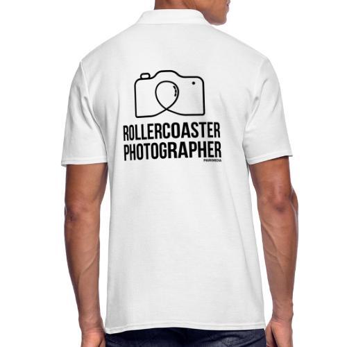 Photographe de montagnes russes - Polo Homme