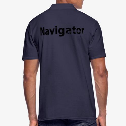 Navigator VIO combinatie zwart - Mannen poloshirt