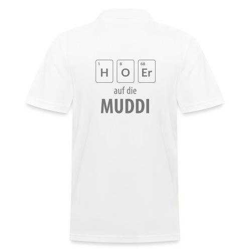 Hör auf die Muddi - Männer Poloshirt