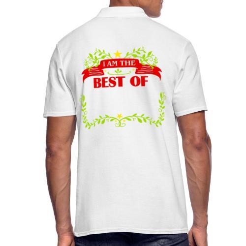 Talent Message I AM THE BEST OF Fun 6 - Männer Poloshirt