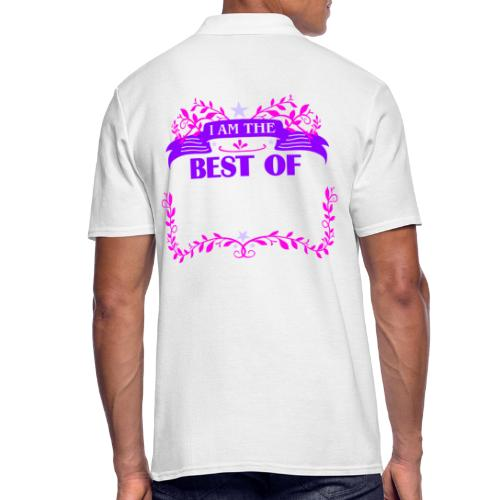 Talent Message I AM THE BEST OF Fun 3 - Männer Poloshirt