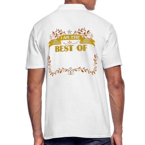 Talent Message I AM THE BEST OF Fun 5 - Männer Poloshirt
