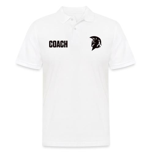 Coach Oberbekleidung Weiss - Männer Poloshirt