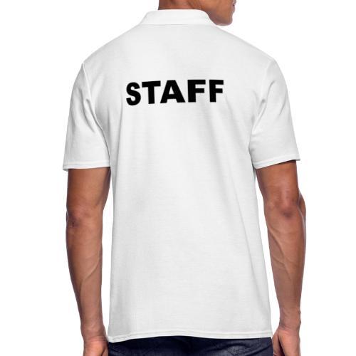 Staff - Männer Poloshirt
