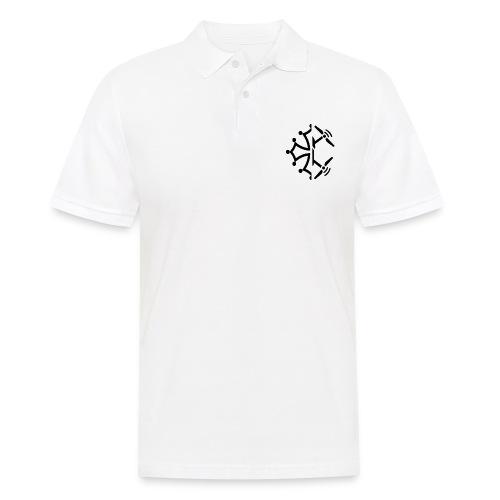 Classic Logo Black - Polo Homme