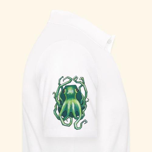 Grön bläckfisk - Pikétröja herr