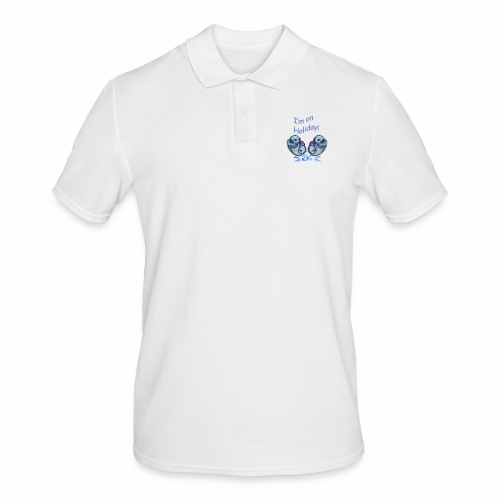 I'm on holliday - Men's Polo Shirt