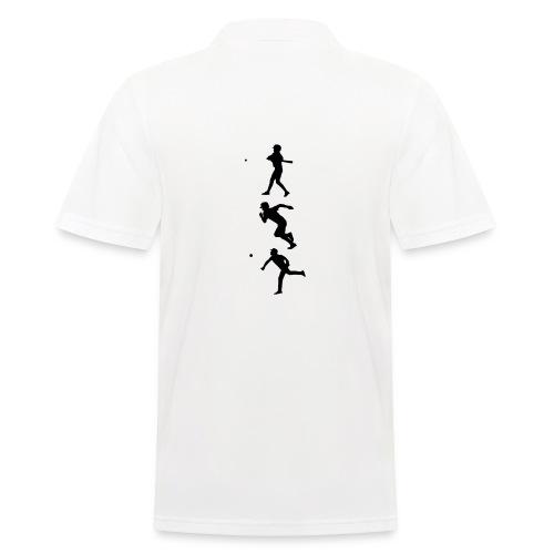Hit Run Throw + Logo Arm - Männer Poloshirt
