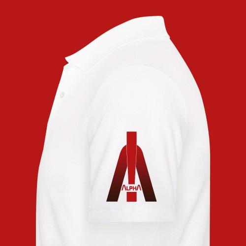 ALPHA - Winner wins! - Männer Poloshirt