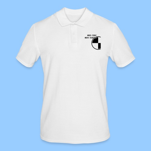 Anything worth doing. - Men's Polo Shirt