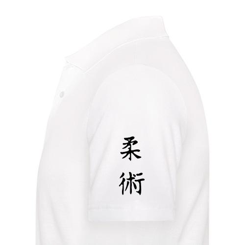 jiu-jitsu på japansk og logo - Herre poloshirt