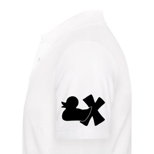 Ente mit X v3 3 klein - Männer Poloshirt