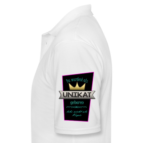 Unikat - Männer Poloshirt