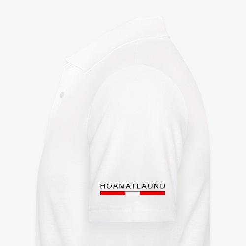 Hoamat mit österreich flagge - Männer Poloshirt