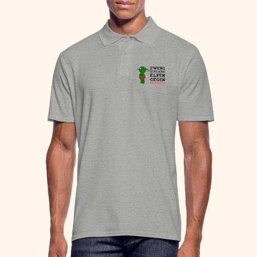 Zwergschlammelfen gegen Rassismus - Männer Poloshirt