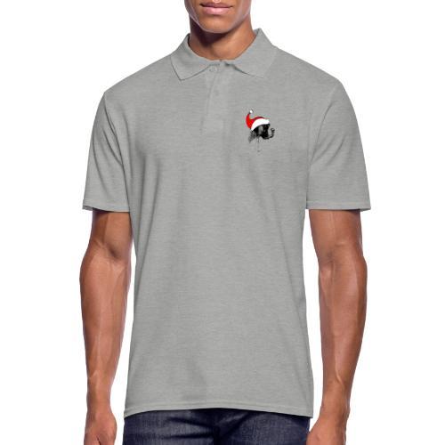 Weihnachten Bernhardiner Hunde Geschenkidee Design - Männer Poloshirt
