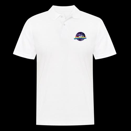 Mushroom Unicorn in Space Hoodie - Men's Polo Shirt