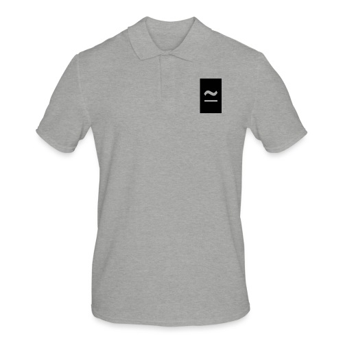 The Commercial Logo Black New - Men's Polo Shirt