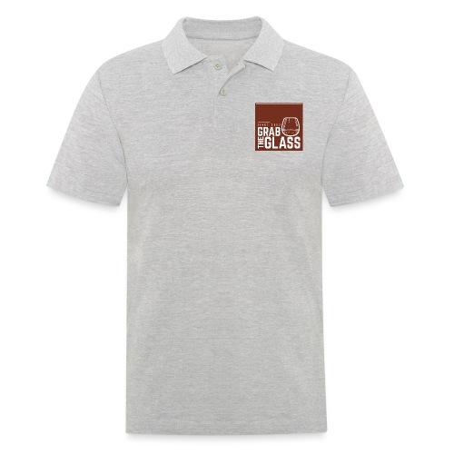 Grabtheglass LOGO - Männer Poloshirt