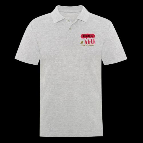 kung hei fat choi monkey - Men's Polo Shirt