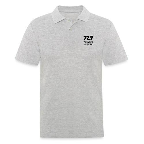 729 grande nero - Polo da uomo