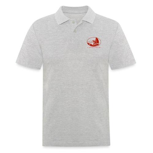 fortgeblasen - Aus Lust zur See - Männer Poloshirt