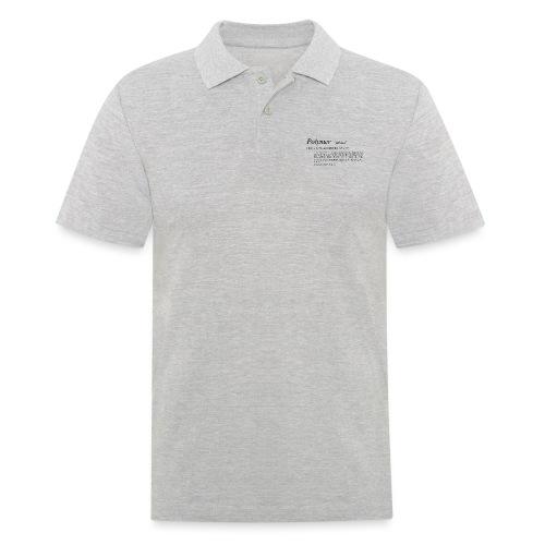 Polymer definition. - Men's Polo Shirt