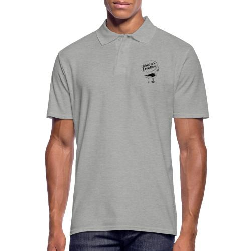 Schiet op´n Lockdown - Männer Poloshirt