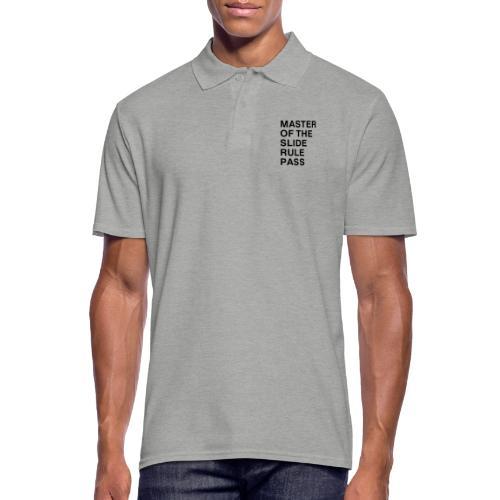 Master of the Slide Rule Pass - Men's Polo Shirt