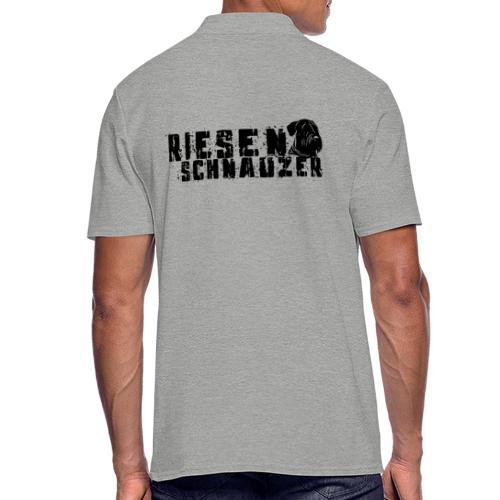 Riesenschnauzer/ Schnauzer Hunde Design Geschenk - Männer Poloshirt