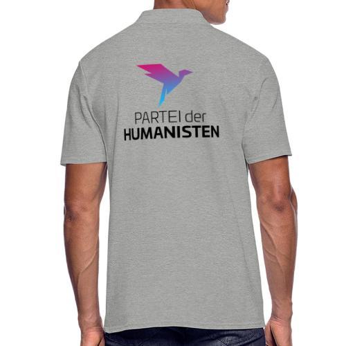 Statement Logo beidseitig - Männer Poloshirt
