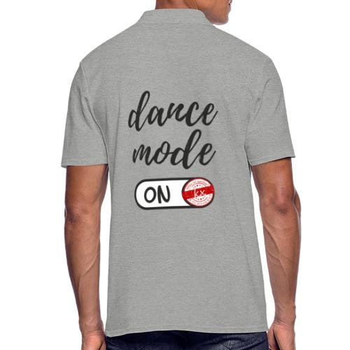 Shirt dance mode schw - Männer Poloshirt