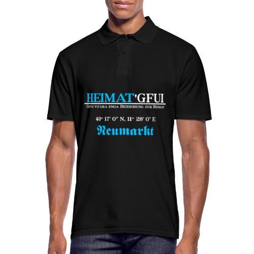 Heimat'Gfui Neumarkt Bayern Koordinate Dialekt - Männer Poloshirt
