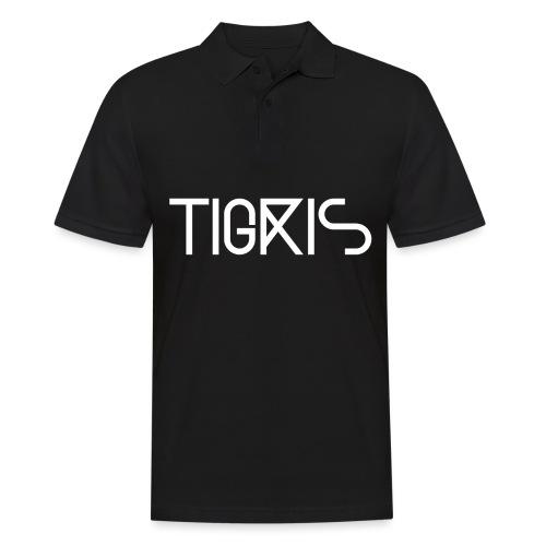 Tigris Vector Text White - Men's Polo Shirt