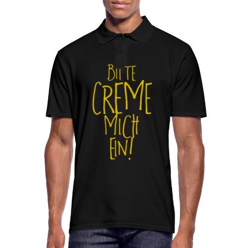 Bitte creme mich ein! - Männer Poloshirt