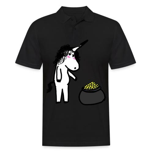 Oro unicorno - Polo da uomo