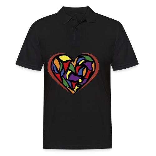 cuore di vetro - Polo da uomo