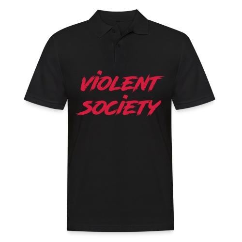 Violent Society - Männer Poloshirt