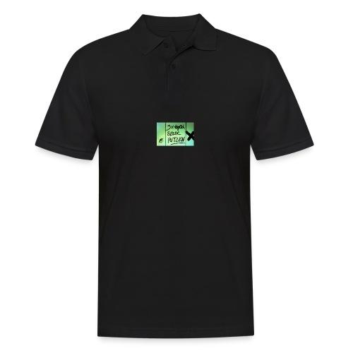 Szene Putzen - Männer Poloshirt