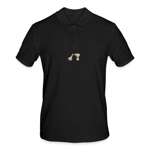 Circus elephant and seal - Men's Polo Shirt