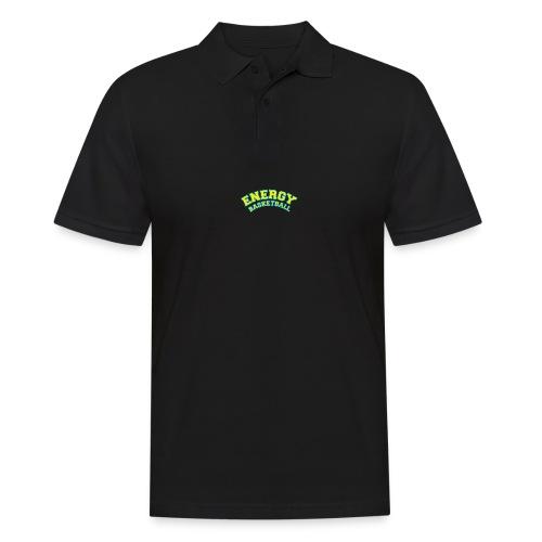street wear logo giallo energy basketball - Polo da uomo