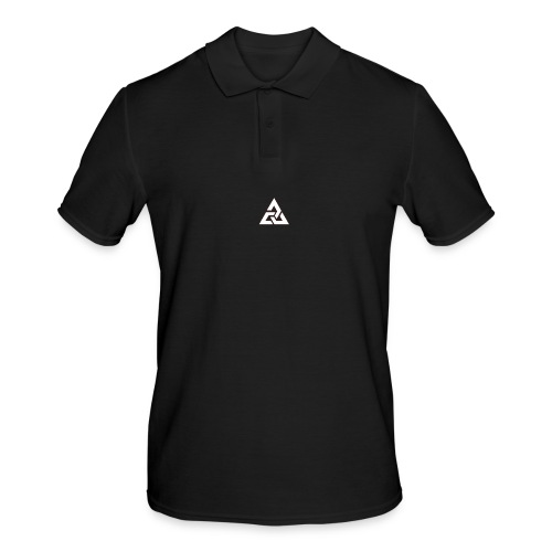 Großes Logo [JxsyFX] - Männer Poloshirt